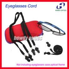 50pcs DH015 Polyester Black Sport Glasses Sunglasses Eyewear Eyeglasses Cord Cha