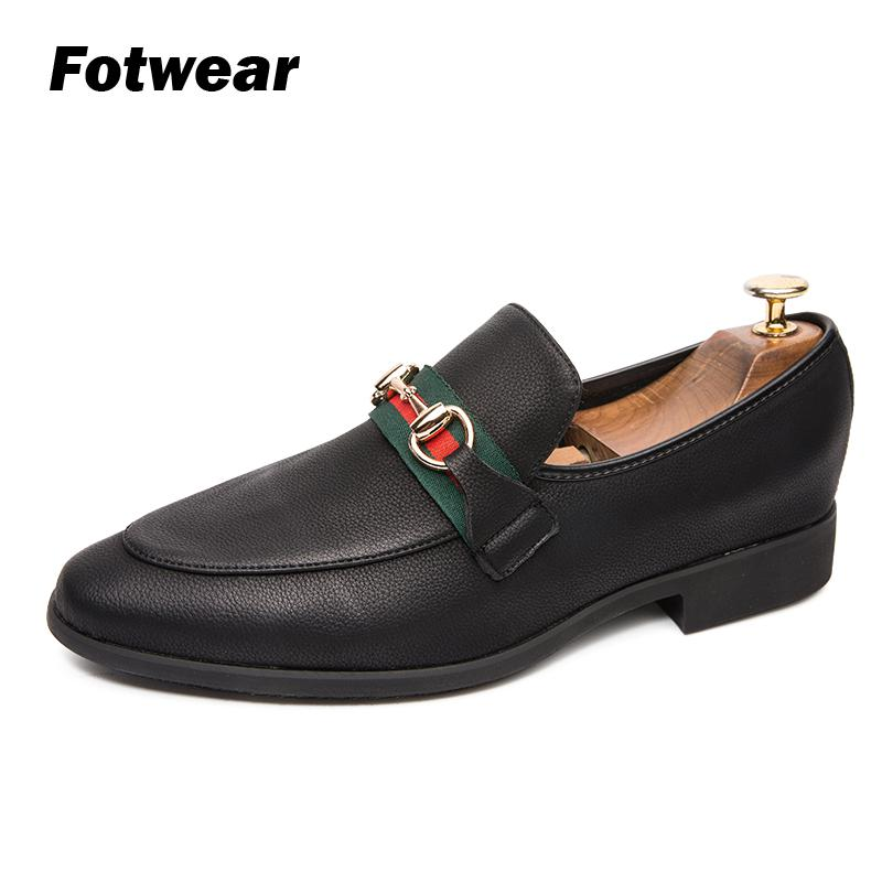 Shoes Italian-Style Thick-Bottom Casual Fashion Luxury Men