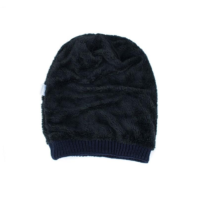 8c8dbeda06a Winter Autumn Beanies Hat Unisex Plain Warm Soft Skull Knitting Cap ...