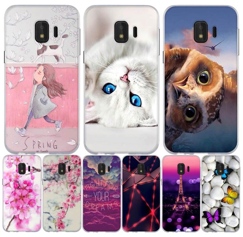 For Coque Samsung Galaxy J2 Core Case 3d Cute Silicone Soft TPU Case Cover For Samsung J2 Core Case J2 Core J260 J260F Fundas