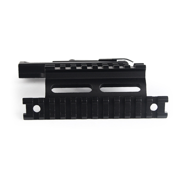 Tactische AK47 AK74 SAIGA AK Serie Side Mount Rail Quick QD 20mm Detach Dubbele Picatinny Wever Hunting Airsoft Beugel RL2-0041