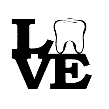 Car -covers Love Tooth Funny Cozy Art Sticker Dentist Dental Hygienist Assistant Bleach for Window Truck Door Vinyl Jdm