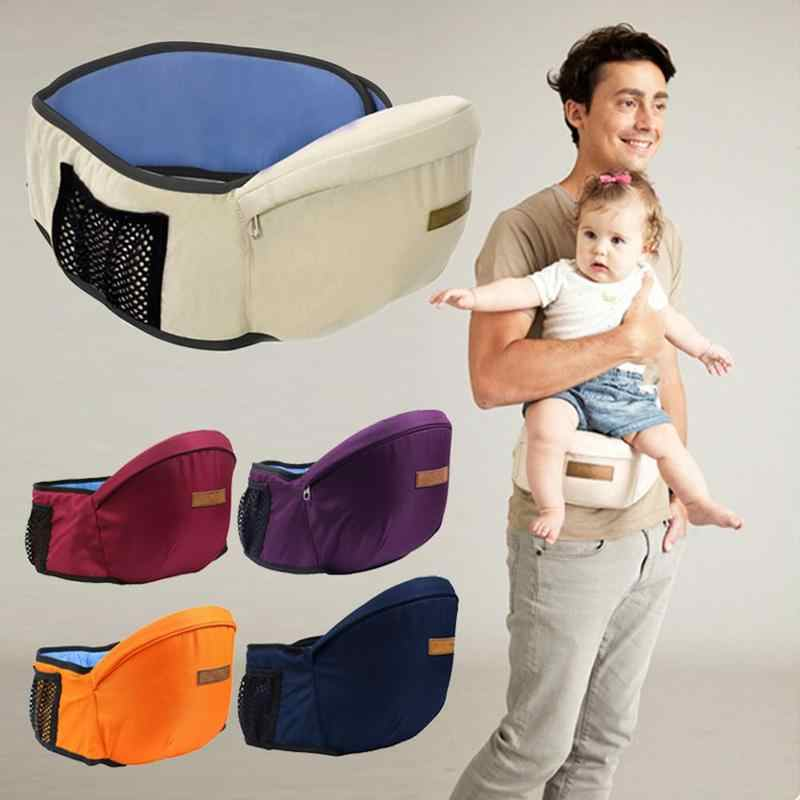 b5c4dfaca94 ... Newborn Baby Carrier Waist Stool Kangaroo Infant Hip Seat Baby Sling  Equipped With Pocket Backpacks For ...