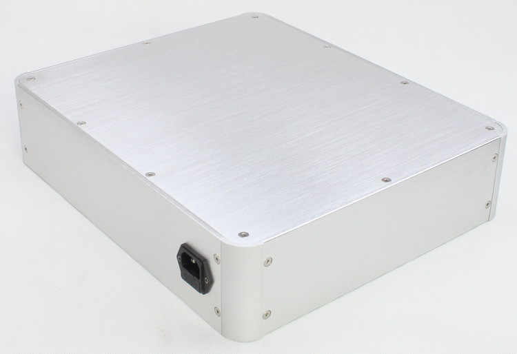 ST0088 Алюминий шасси Усилители домашние случае предусилителя корпус усилителя Кабинета DAC Box