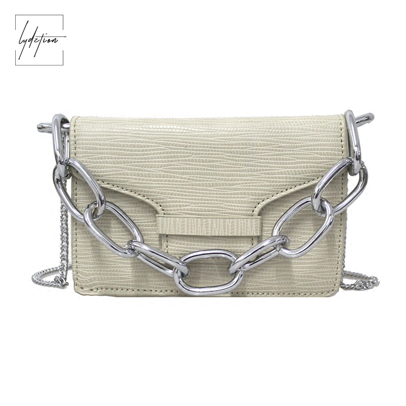 Lydztion 2018 New White Summer chain Ladies Bag Fashion Handbag Shoulder Messenger Designer Clutches Bag Famous Brand Women Bags new guote fashion designer geneva ladies sports brand white