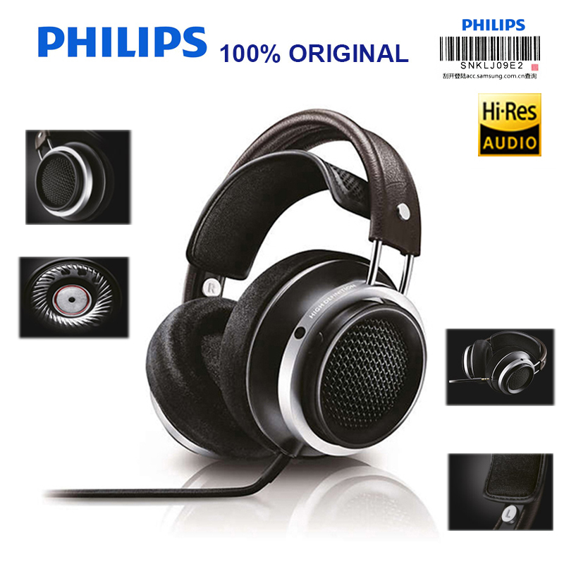 Philips X1s Professional Earphone with Wire Control Earphones HIFI Headphone for Game Music Headset Official Verification