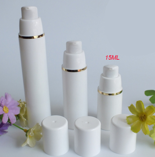 4e395176a8fb US $72.44 |100pcs 15ml white airless vacuum pump bottle with gold Line,0.5  ounce airless Cosmetic Container,15ml plastic Refillable Bottles-in ...