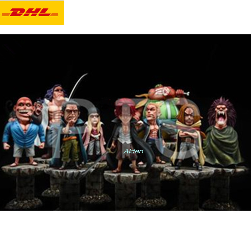 10 ONE PIECE Statue Red Hair Pirates Four Emperors Bust Shanks Full-Length Portrait Crew Yasopp GK Action Figure Toy BOX Z55010 ONE PIECE Statue Red Hair Pirates Four Emperors Bust Shanks Full-Length Portrait Crew Yasopp GK Action Figure Toy BOX Z550