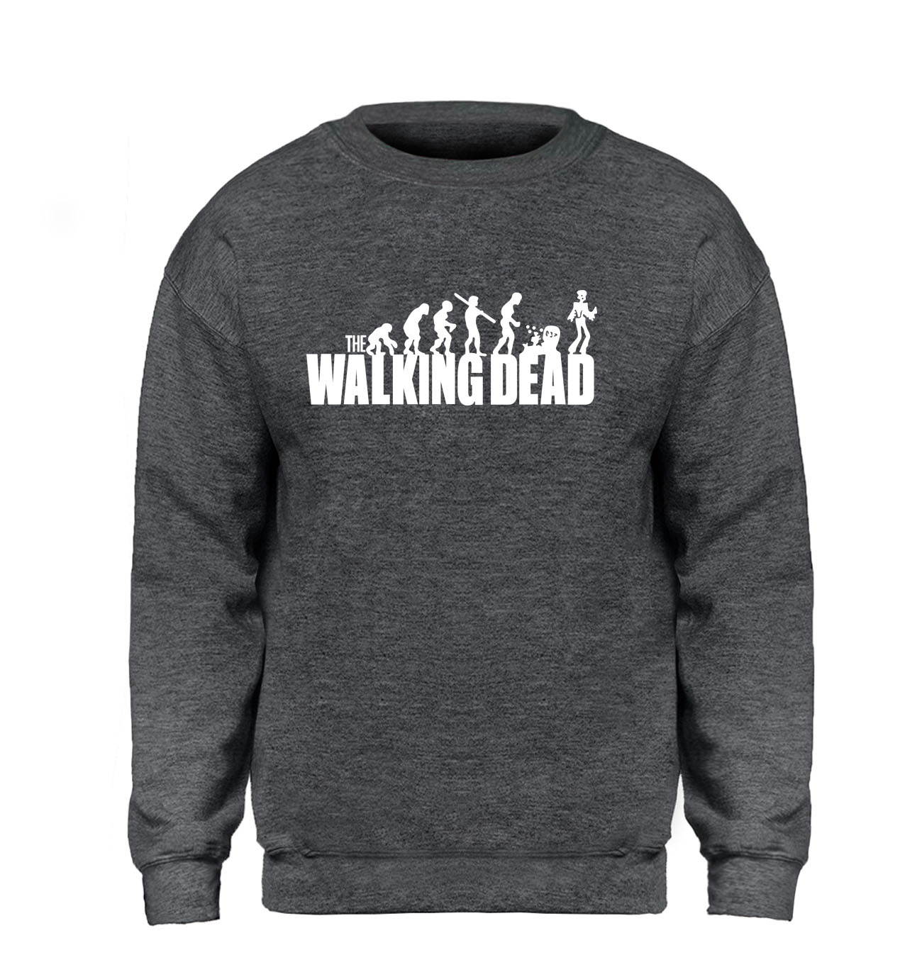 The Walking Dead Hoodie Men Evolution Sweatshirt Winter Autumn Fleece Warm Hip-Hop Sportswear Workout Sweatshirts Brand Clothing