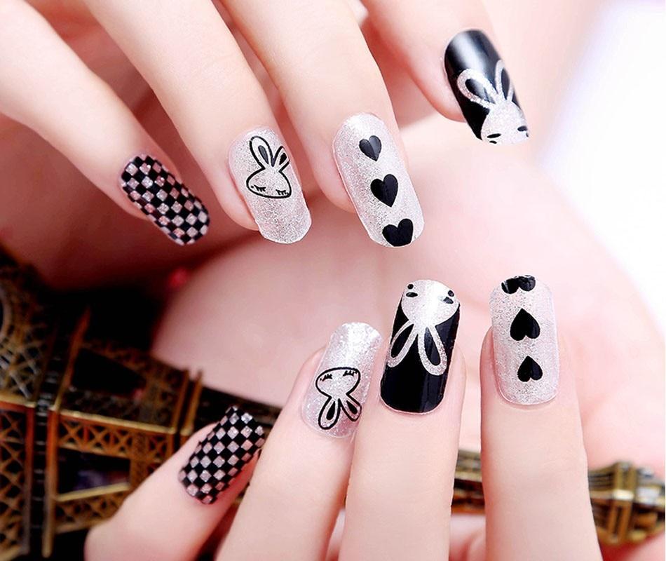 New 3pcs Diy Manicure Water Transfer Nails Art Sticker Fantacy Flowers Pattern Finger Nail Foil For Decoration