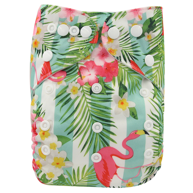 Baby Reusable Printed Diapers