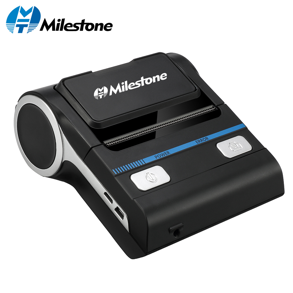 Milestone MHT-P8001 Bluetooth Receipt Printers Wireless Thermal Printer 80mm Compatible With Android/iOS/Windows ESC/POS
