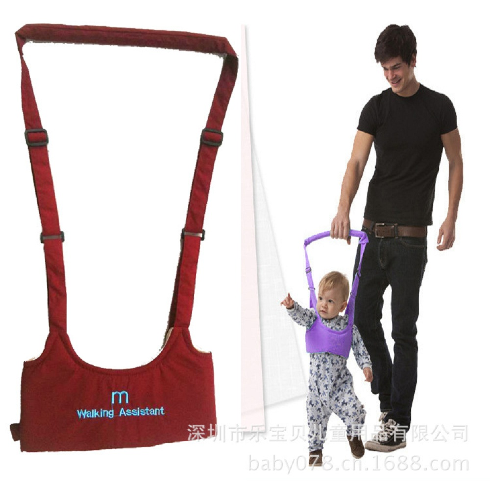 Infant Learning Walking Assistant Newborn Baby Walking Belt Exercise Activity Harnesses Toddler Safety Leashes Adjustable Strap