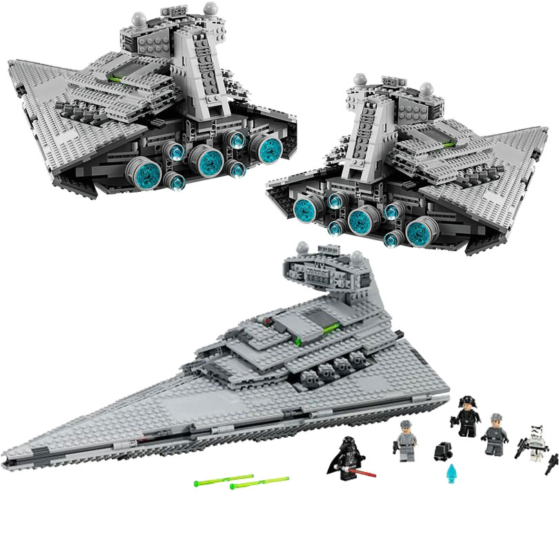 Lepin 05062 Space War 1359Pcs The Imperial Super Star Destroyer Building Blocks Bricks Toys Kids Gift 75094 lepin 22001 pirate ship imperial warships model building block briks toys gift 1717pcs compatible legoed 10210