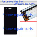 Black 5.0 inch Full LCD Display +Touch Screen Digitizer Glass Assembly For Lenovo Vibe Shot Z90 Z90a40 Z90-7 Z90-3 Free shipping