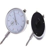 KSOL Dial Indicator Gauge 0-10mm Meter Precise 0.01 Measuring Tool Resolution Concentricity Test