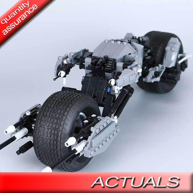 Lepin 07061 Batman Motorcycle Model Building Blocks Dc Marvel Super