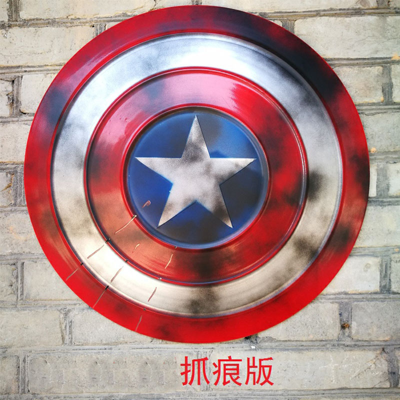 Image 4 - Captain America Shield Cosplay Props Avengers Endgame Weapon Captain America Steve Rogers Accessories Halloween PartyCostume Props   -