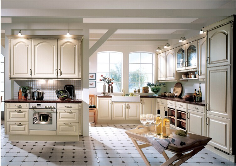 Us 3500 0 Wooden Island Kitchen Cabinet French Style Kitchen Cabinet Design In Kitchen Cabinets From Home Improvement On Aliexpress Com Alibaba