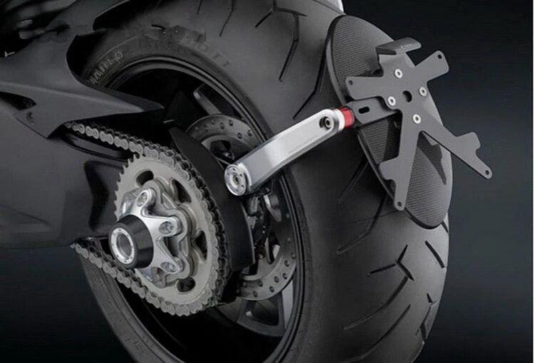 Motorcycle Rear Axle Wheel Guard For Ducati Monster 1200 S R 1200S 1200R 2014 2015 2016  ...