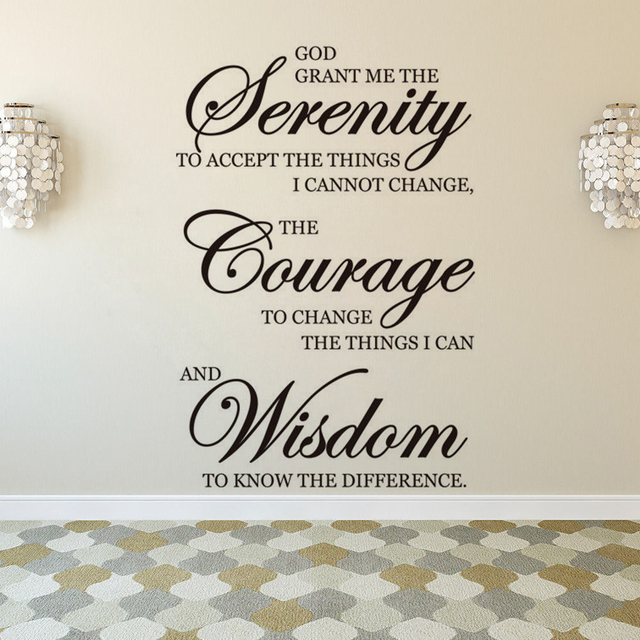 Wall Art Sayings Bible Verse Scripture Vinyl Wall Sticker Home ...