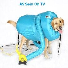 A, новая сушилка для хот-догов позволяет быстро и легко высыхать собак после ванны Размер s m l для маленьких больших собак