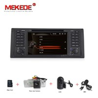 Free shipping MIC map gift Car Audio dvd gps player for bmw e53 E39 X5 with radio ipod bt RDS 7inch Capacitive screen