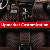 Custom Special Car Floor Mats For Durable Waterproof Carpets For Mercedes Benz W204 320 G55 W205