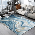 Nordic Geometrische Abstrakte Malerei Kelim Teppiche für Wohnzimmer Schlafzimmer Teppiche Anti Slip Sicherheit Teppich Kinderzimmer Spielen matten|Teppich|   -