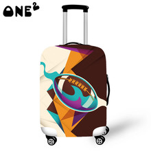 ONE2 Design Printing Cover Apply to 22,24,26 Inch Suitcase cover teenagers girls Luggage cover travel accessories