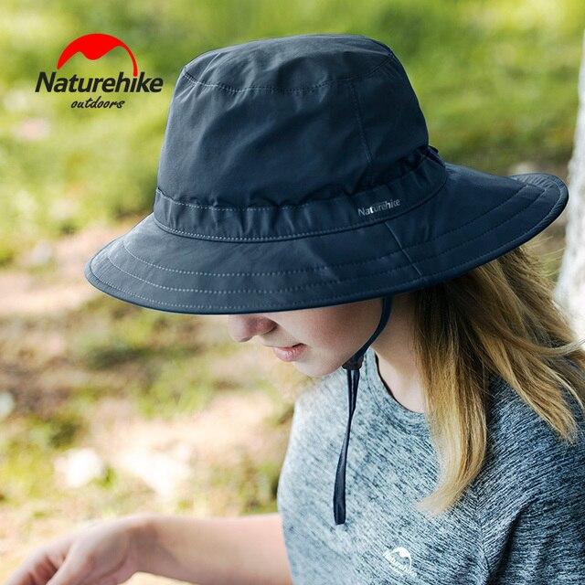Naturehike sombrero protector solar senderismo grandes aleros sombreado  exterior secado rápido viajar sol pesca 982e8013168