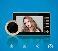 4.3 Display LCD Wide Angle Peephole Viwer Polegada Telefone Video Da Porta