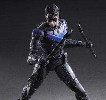 играть в кай артс | Играть книги по искусству S Кай Nightwing Бэтмен рыцарь Аркхема вариант игратьарткай ПВХ фигурку ночь крыло играть 25 см кукла