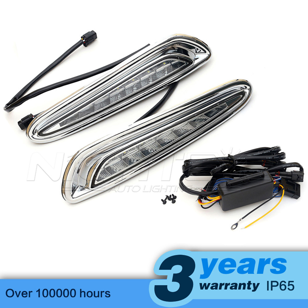 High Quality Car-special LED Daytime Running Light with Turn Light Function for MAZDA 3 2010-2013 DRL Freeshipping D15 wholesale high quality led daytime running light 100
