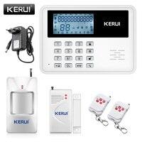 NEW KERUI 5900G Android IOS App Set Wireless GSM PSTN System Home House Office Burglar Alarm