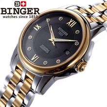2017 Fashion Casual wrist watch Full Steel Sports Noble CZ Diamond Wristwatches waterproof shockproof relogio watches Black Dial