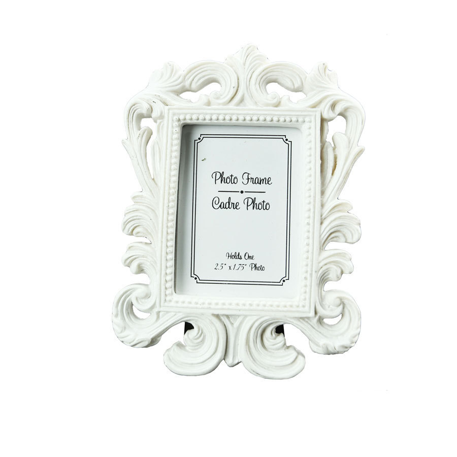 white,black) Baroque photo picture frame Wedding Place Card Holder ...