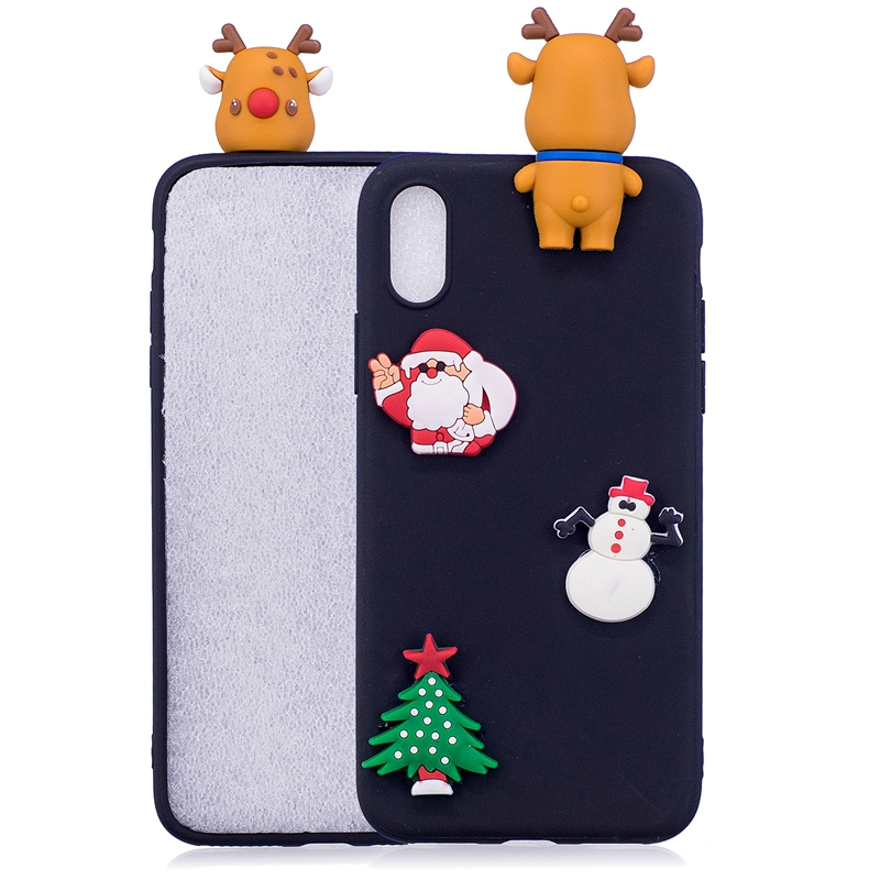 3d Christmas Iphone 6 7 8 Plus Case Phone Cases For Iphone 5s 5 Se Coque