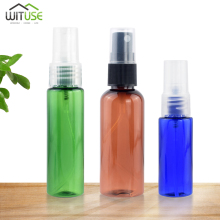 купить 1pc Travel Refillable Bottles Clear Plastic Mini Perfume Atomizer Empty Spray Bottle Makeup Bottle Containers 200mL 30ml 50ml дешево