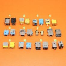 12 選択するモデル、 2 ピース/ロットラップトップノートブック DC 電源コネクタジャック用エイサー asus シリーズノートブック