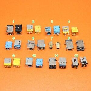 Image 1 - 12 моделей на выбор, 2 шт./лот ноутбуки с разъемом питания постоянного тока для ноутбуков Acer asus Серии