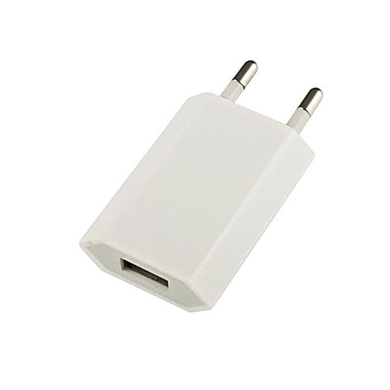 White 1A EU Plug USB Wall <font><b>Charger</b></font> Adapter Mobile Phone Charging Tools For iPhone 6 6S 5 Samsung HTC image