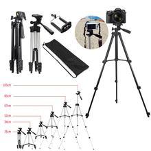 Профессиональный штатив для камеры, алюминиевый штатив для DSLR камеры, Длинные штативы, регулируемый штатив, держатель, зажим для телефона, видеокамеры