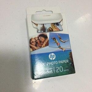 Image 5 - 2 קופסות (40 דפים) אברה מקורי תמונה נייר צילום מדפסת zink תמונה נייר קלטת להדביק דבק עבור hp ZINK תמונה נייר
