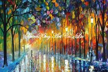 palette knife oil painting  modern oil painting canvas oil painting K371
