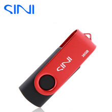 SINI 100% real capacity pendrive 4G 8G 16G Swivel USB Flash Drive figure usb 2.0 32GB pen drive 64G metal usb memory stick