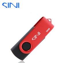СИНИ 100% реальная емкость pendrive 4 Г 8 Г 16 Г Поворотный USB Flash Drive usb рис. 2.0 32 ГБ pen drive 64 Г памяти usb металла stick