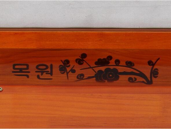 Móveis de madeira Coreano Mesa De Jantar Perna Dobrável Retângulo - Mobiliário - Foto 5