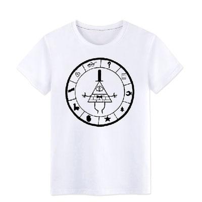 гравити фолз футболки купить на алиэкспресс