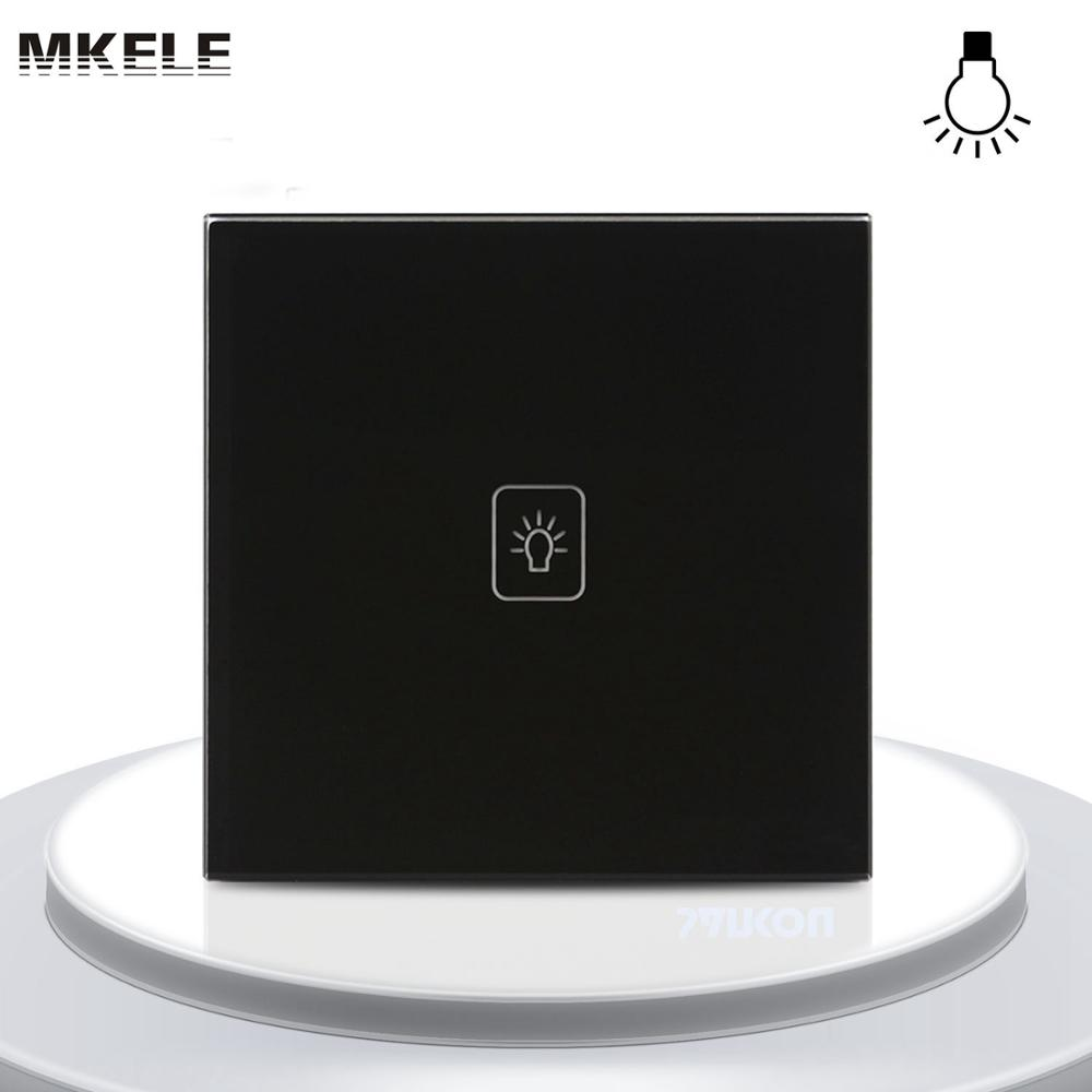 High Quality UK Standard 1 Gang LED Touch Black Crystal Glass Panel Light Wall Switch Dimmer Smart uk standard remote touch wall switch black crystal glass panel 1 gang way control with led indicator high quality